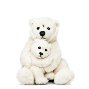 WWF Polar Bear Mom and Baby