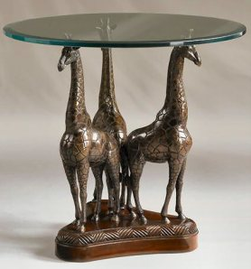 Giraffe Table from Henry Link Trading Company