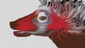 """Spirit Dog"" created with Fresh Paint"